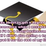 Degree Graduation Quotes