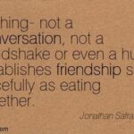 Eating Dinner With Friends Quotes Twitter