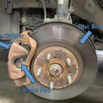 Effects of car braking after changing of brake pad