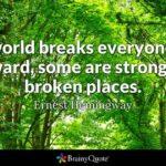 Ernest Hemingway Broken Quote Twitter