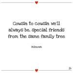 Family Cousin Quotes