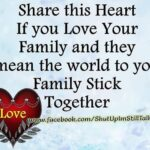 Family Share Quotes Facebook