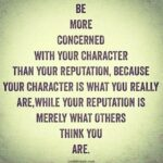 Famous Quotes About Character Pinterest