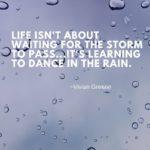 Famous Quotes About Rain