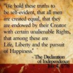 Famous Quotes From The Declaration Of Independence