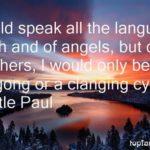 Famous St Paul Quotes