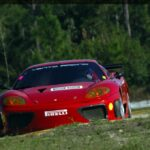 Ferrari 360 GTC Driving On Track