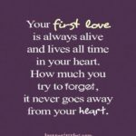 First Love Quotes Facebook
