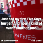 Five Guys Quotes Twitter