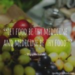 Food Is The Best Medicine Quote Facebook