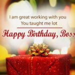 Formal Birthday Wishes For Boss Facebook