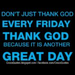 Friday God Quotes Twitter