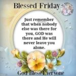 Friday God Quotes Facebook