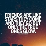 Friends Are Like Stars Quote Facebook