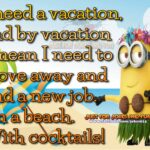 Funny Beach Vacation Quotes Tumblr