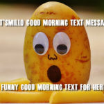 Funny Good Morning Text Messages Pinterest