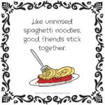 Funny Spaghetti Sayings Twitter