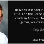 George Will Baseball Quotes Facebook