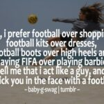 Girl Football Quotes