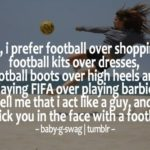 Girl Football Quotes Pinterest