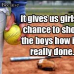 Girls Softball Quotes Pinterest