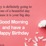Good Morning Birthday Wishes Twitter