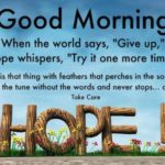 Good Morning Energetic Quotes Twitter