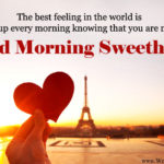 Good Morning Message For Sweetheart Facebook