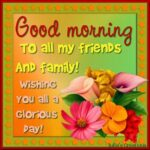Good Morning Messages For Friends And Family