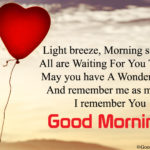 Good Morning Wishes To A Lover Facebook