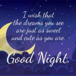 Good Night Message For Love One Facebook
