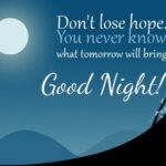 Good Night Quotes With Positive Thought Facebook