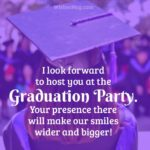 Graduation Invitation Sayings Pinterest