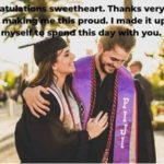 Graduation Text Message For Boyfriend Pinterest
