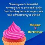 Happy 3rd Birthday Son Quotes