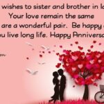 Happy Anniversary Message For Sister Facebook