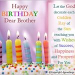 Happy Birthday Dear Brother Pinterest