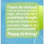 Happy Birthday Message For Boyfriend Miles Away Pinterest