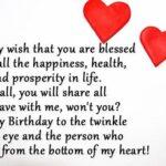 Happy Birthday Message For Boyfriend Twitter