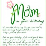 Happy Birthday Mom Quotes From Daughter Tumblr