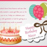 Happy Birthday Niece Messages Facebook