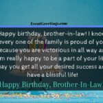 Happy Birthday To My Brother In Law Twitter
