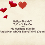 Happy Birthday To My Fiance Pinterest