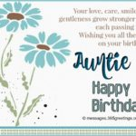 Happy Birthday Wishes For Aunty Pinterest