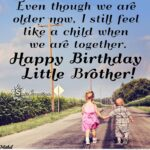 Happy Birthday Wishes For Younger Brother Facebook