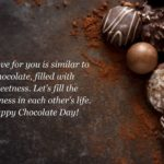 Happy Chocolate Day Greetings Pinterest