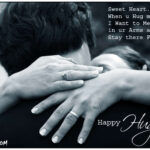 Happy Hug Day Sms Pinterest