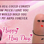 Happy Hug Day To My Love Facebook