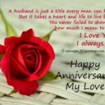 Happy Marriage Anniversary To Husband Pinterest
