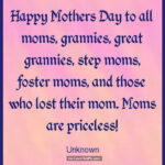 Happy Mothers Day To All Moms Quotes Tumblr